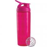 BlenderBottle SportMixer Sleek розовый 828 мл
