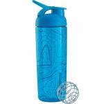 BlenderBottle SportMixer Sleek голубой 828 мл
