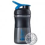 BlenderBottle SportMixer черно-синий 591 мл