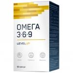 LevelUp Omega 3-6-9 (60 капс)
