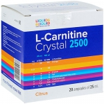 Liquid & Liquid L-Carnitine Crystal 2500 (20x25 мл)