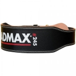 MadMax Leather Belt черный