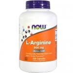 NOW L-Arginine 500 mg (250 капс)