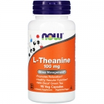 NOW L-Theanine 100mg (90 капс)
