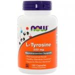 NOW L-Tyrosine (120 капс)