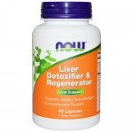 NOW Liver Detoxifier & Regenerator (90 капс)