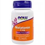 NOW Melatonin 3mg (60 капс)