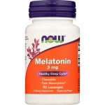 NOW Melatonin 3mg (90 таб)