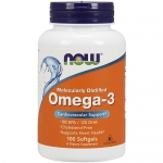 NOW Omega-3 (100 капс)