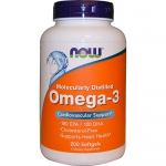 NOW Omega-3 (200 капс)