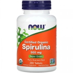 NOW Spirulina (200 капс)