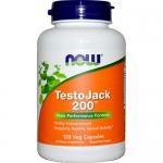 NOW TestoJack 200 (120 капс)