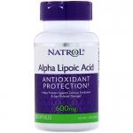 Natrol Alpha Lipoic Acid 600mg (30 капс)