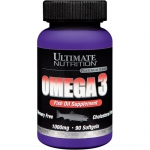 Ultimate Nutrition Omega 3 (90 капс)